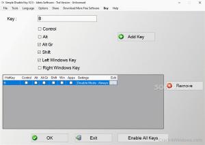 Simple Disable Key Crack